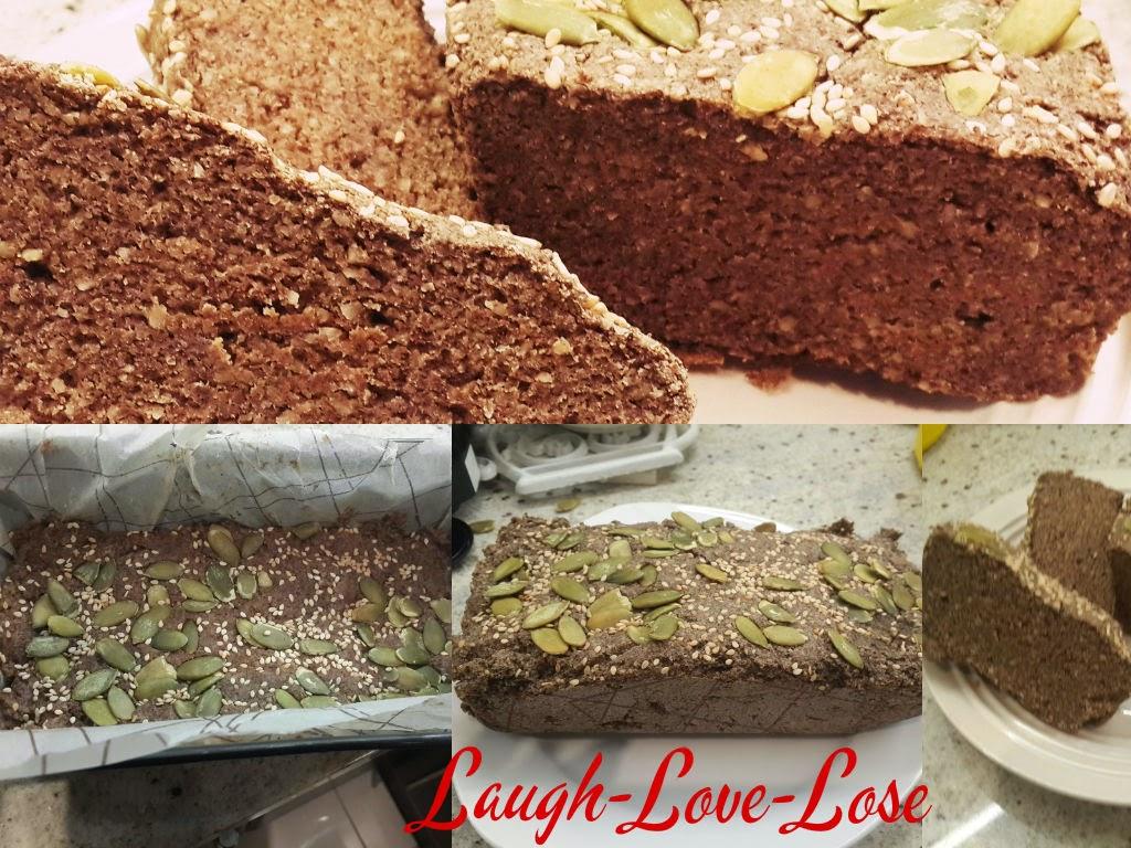 Almondflax-bread