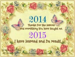 2015 I am ready