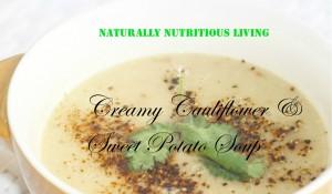 Cauli and sweet pot soup