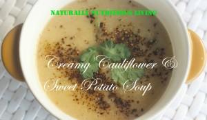 Cauli and sweet pot1soup