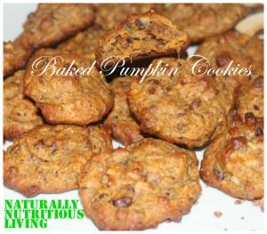 baked pumpkin cookies2