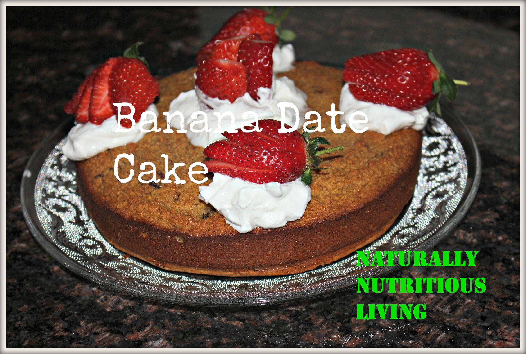 Banana and Date Cake [Paleo, Dairy free, Gluten free ...