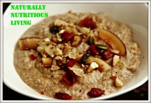Applesauce porridge