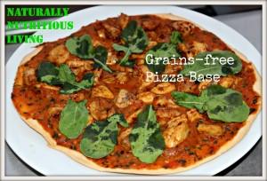 grains free pizza base